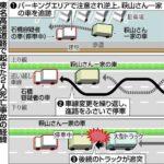東名高速道路で「あおり運転」